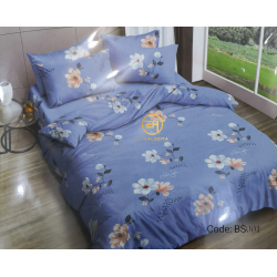 BEDSHEET 3D QUEEN SIZE 7 IN 1 BS001
