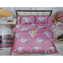 BEDSHEET 3D QUEEN SIZE 7 IN 1 BS006