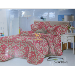 BEDSHEET 3D QUEEN SIZE 7 IN 1 BS008