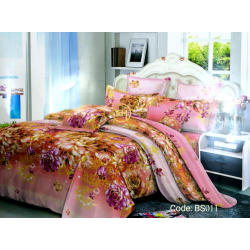BEDSHEET 3D QUEEN SIZE 7 IN 1 BS011