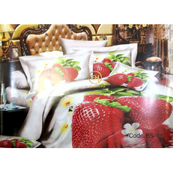 BEDSHEET 3D QUEEN SIZE 7 IN 1 BS012