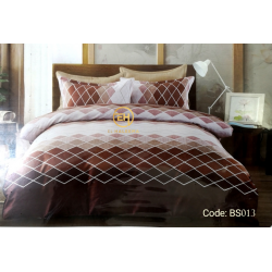 BEDSHEET 3D QUEEN SIZE 7 IN 1 BS013