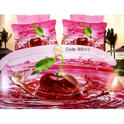 BEDSHEET 3D QUEEN SIZE 7 IN 1 BS014