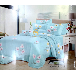 BEDSHEET 3D QUEEN SIZE 7 IN 1 BS017