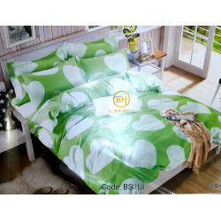 BEDSHEET 3D QUEEN SIZE 7 IN 1 BS018