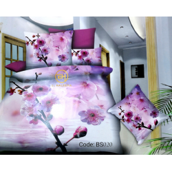 BEDSHEET 3D QUEEN SIZE 7 IN 1 BS020