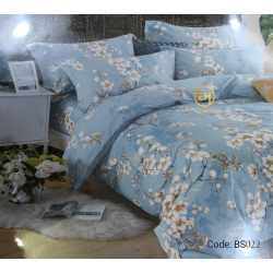 BEDSHEET 3D QUEEN SIZE 7 IN 1 BS022