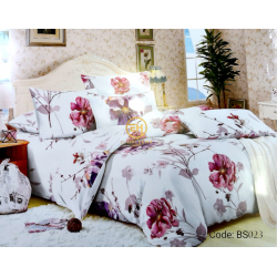 BEDSHEET 3D QUEEN SIZE 7 IN 1 BS023