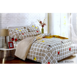 BEDSHEET QUEEN SIZE 7 IN 1 WITH COMFORTER BCS006