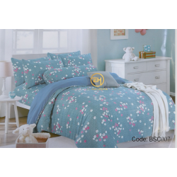 BEDSHEET QUEEN SIZE 7 IN 1 WITH COMFORTER BCS007