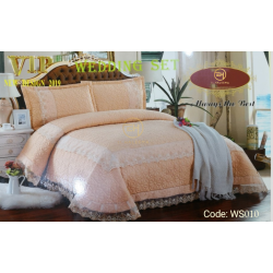 WEDDING BEDSHEET 6 IN 1 WS010