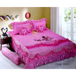 WEDDING BEDSHEET 6 IN 1 WS013