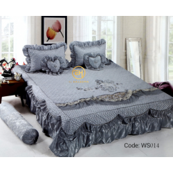 WEDDING BEDSHEET 6 IN 1 WS014