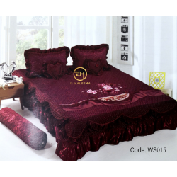 WEDDING BEDSHEET 6 IN 1 WS015