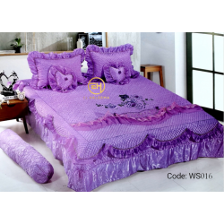 WEDDING BEDSHEET 6 IN 1 WS016