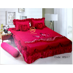 WEDDING BEDSHEET 6 IN 1 WS017
